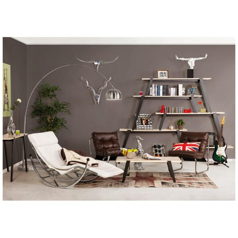Design lounge Sessel ISERE polyurethan (braun) - image 18402