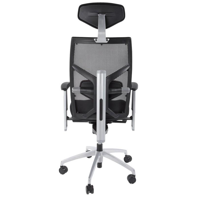 Büro Sessel CORNUE Stoff (schwarz)  - image 18459