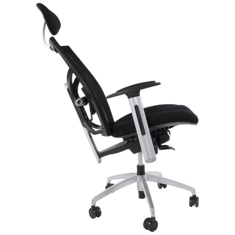 Büro Sessel CORNUE Stoff (schwarz)  - image 18460