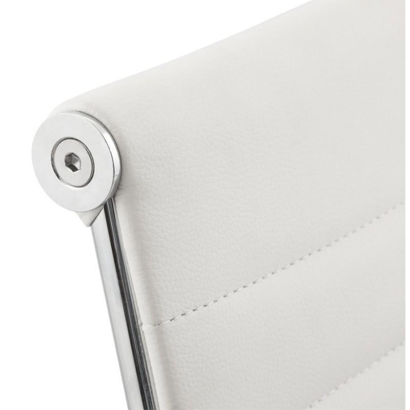 Silla de oficina de poliuretano COUROL (blanco) - image 18571
