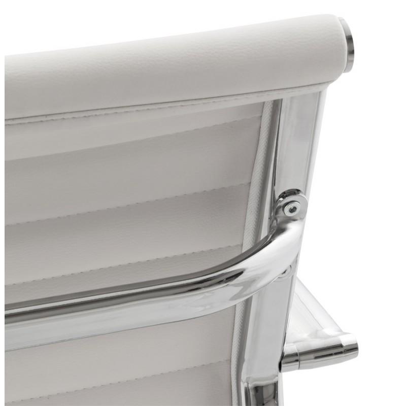 Silla de oficina de poliuretano COUROL (blanco) - image 18574