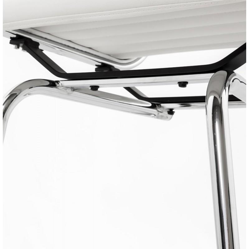 Silla de oficina de poliuretano COUROL (blanco) - image 18580