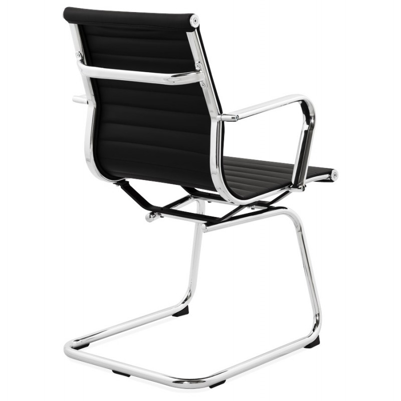 Office armchair COUROL in polyurethane (black)  - image 18587