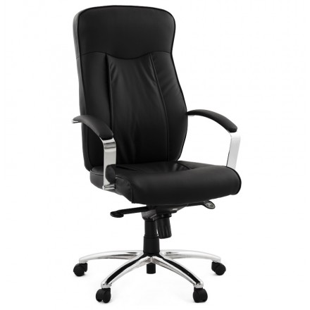 CRABIER office chair in polyurethane (black)