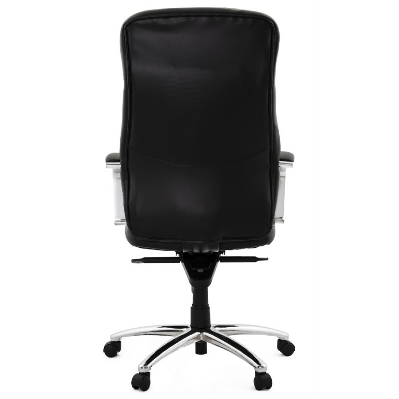 CRABIER Bürostuhl in polyurethan (schwarz) - image 18606