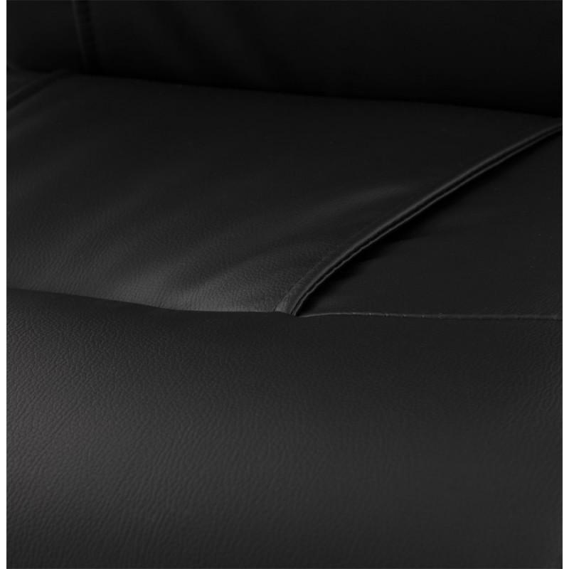 CRABIER Bürostuhl in polyurethan (schwarz) - image 18611