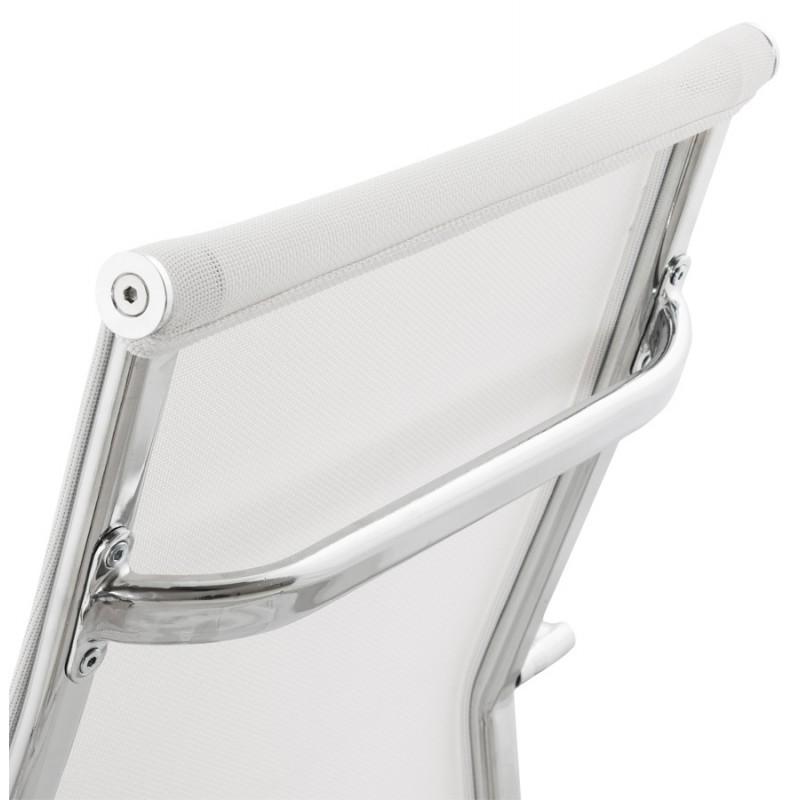 Fauteuil de bureau CRAVE en textile (blanc) - image 18628