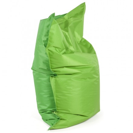 Pouffe rectangular BUSE textile (green)