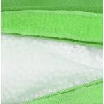 Pouf rettangolare BUSE tessile (verde)
