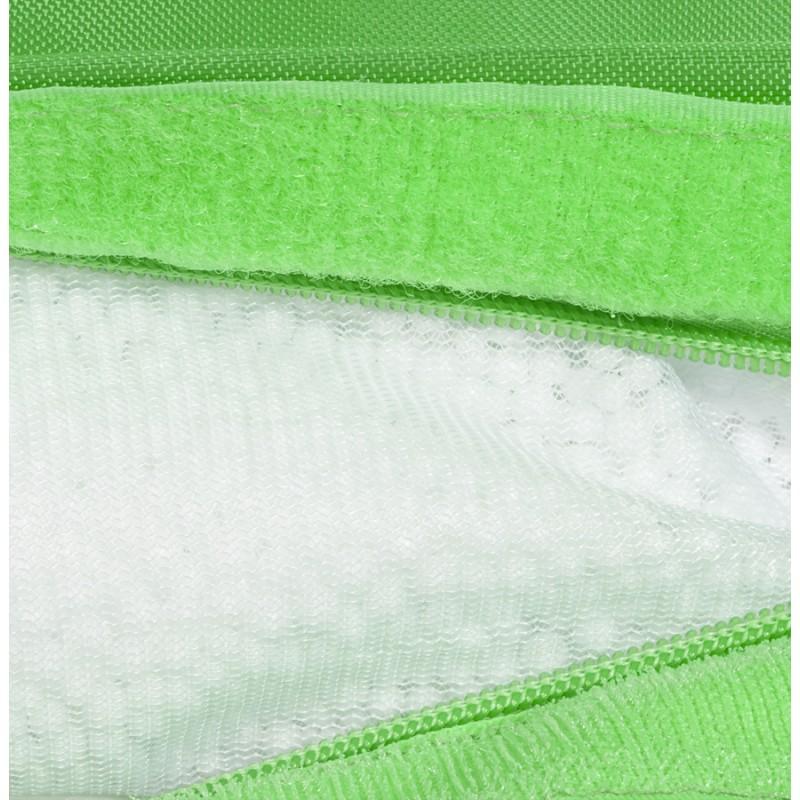 Pouf rectangulaire BUSE en textile (vert) - image 18674