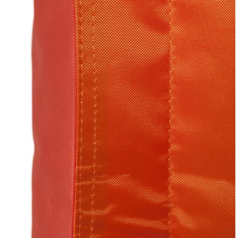 Pouf rectangulaire BUSE en textile (orange) - image 18682