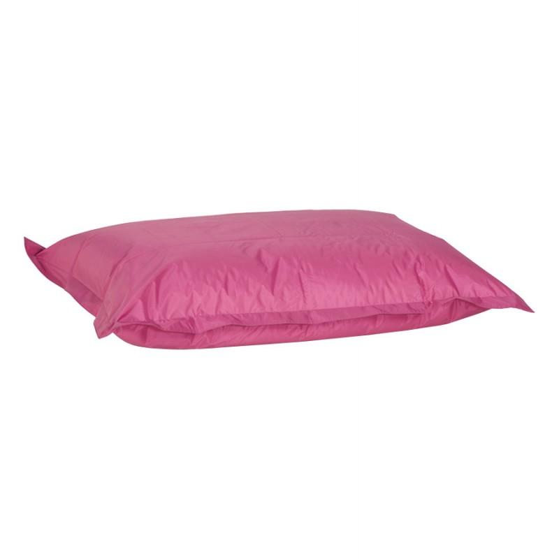 Pouf rectangulaire BUSE en textile (rose) - image 18716