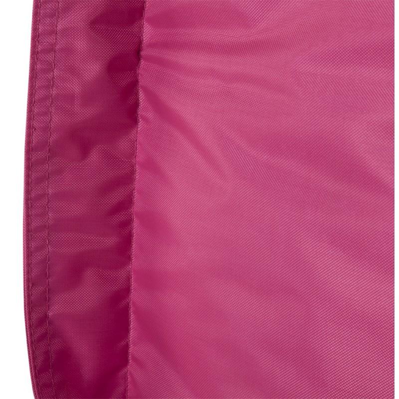 Pouf rectangulaire BUSE en textile (rose) - image 18720