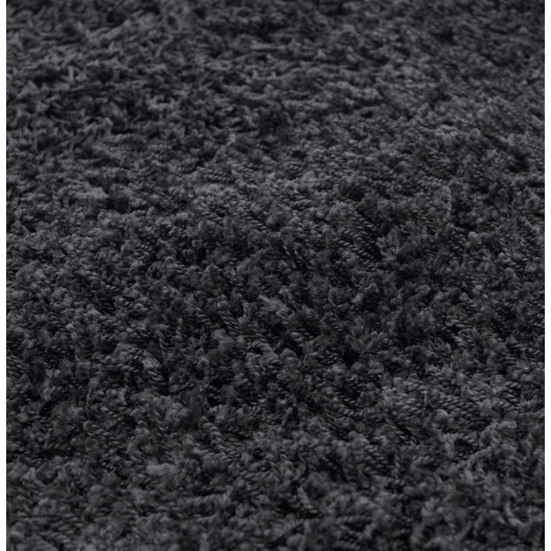 Rechteckige zeitgenössische Teppiche Madagaskar kleines Modell (120 X 170) (schwarz) - image 19849