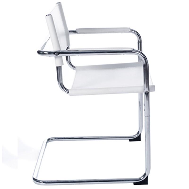 Chaise de bureau design TAHITI (blanc) - image 19865
