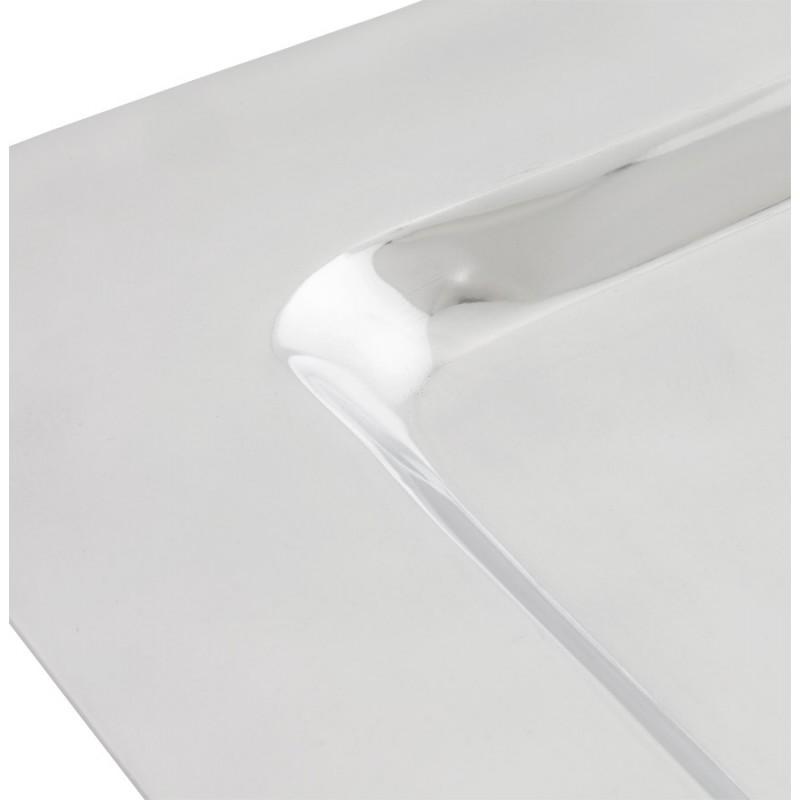 Centre de table SPIRIT carré en aluminium (aluminium) - image 19948
