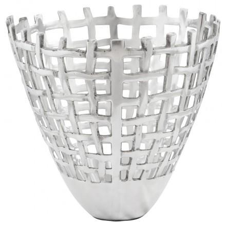 Basura multifuncional OVALO aluminio (aluminio)
