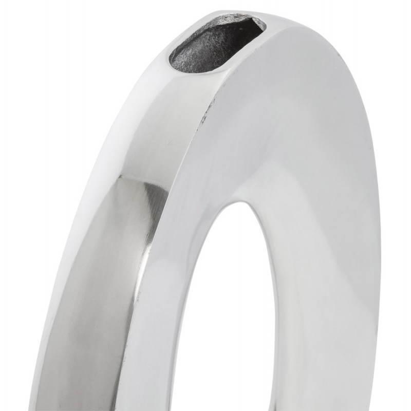 Moderne Vase ŒUF Alu (Aluminium) - image 20014