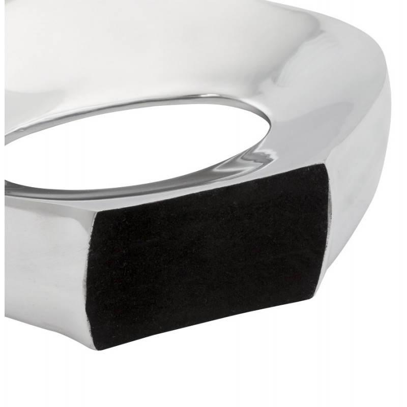 Contemporary vase GOUTTE in aluminium (aluminum) - image 20032