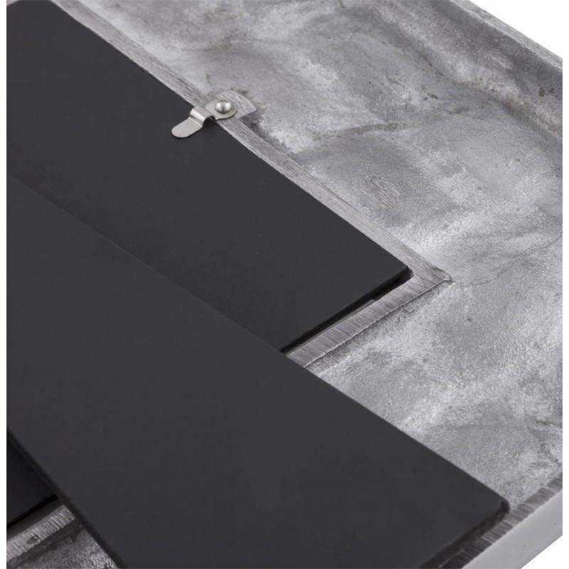 Cadre photos grand format martel en aluminium aluminium - Cadre photo grand format ikea ...