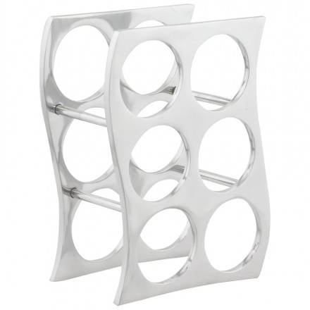 Porte bouteilles HOLES en aluminium (aluminium)
