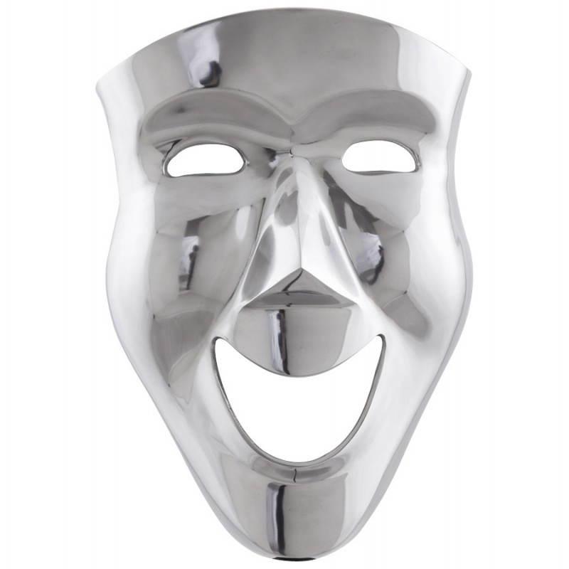 Maschera CARNAVAL di muro in alluminio (alluminio) - image 20067