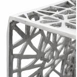 Tables GIGOGNE basses en aluminium