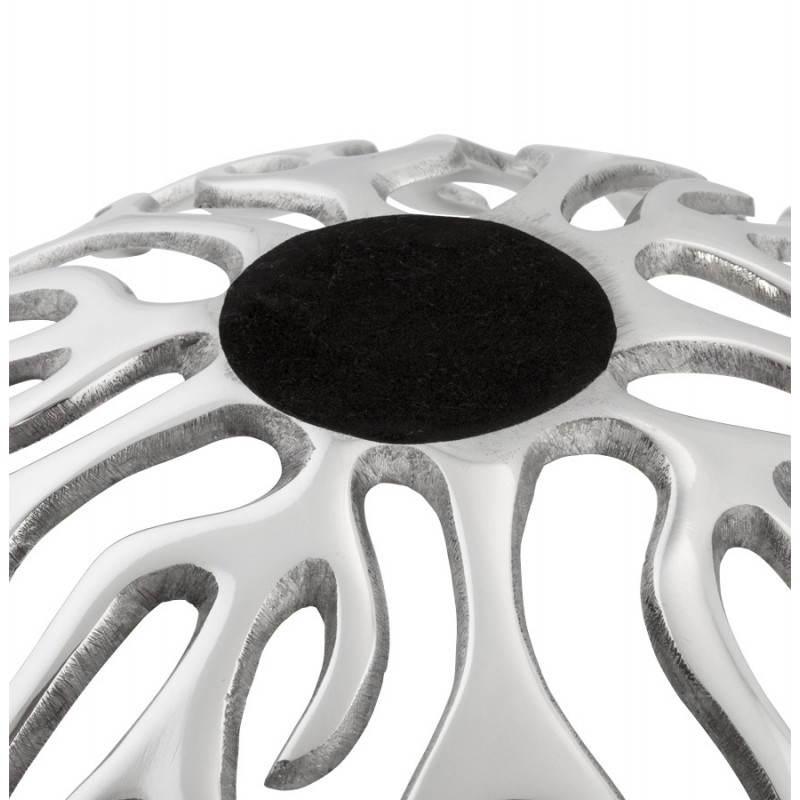 Papierkorb Multifunktions FIRE Alu (Aluminium) - image 20115