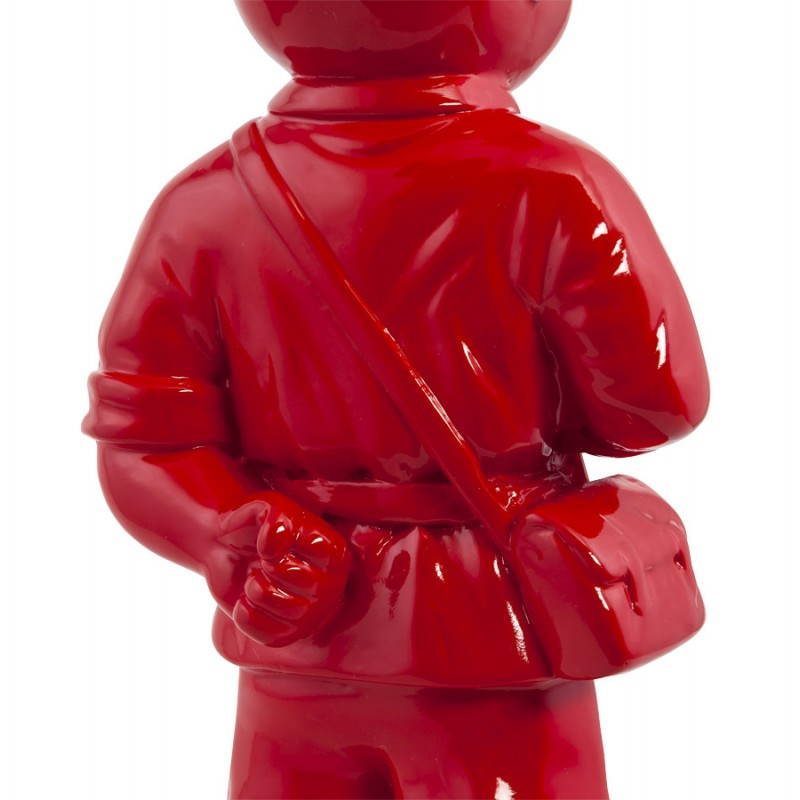 Statue geformt Schneemann Fiberglas SANY (rot)  - image 20219