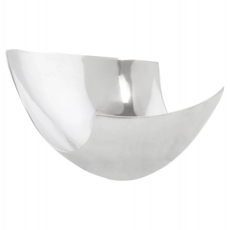 Basura multifuncional BOUEE en aluminio pulido (aluminio)