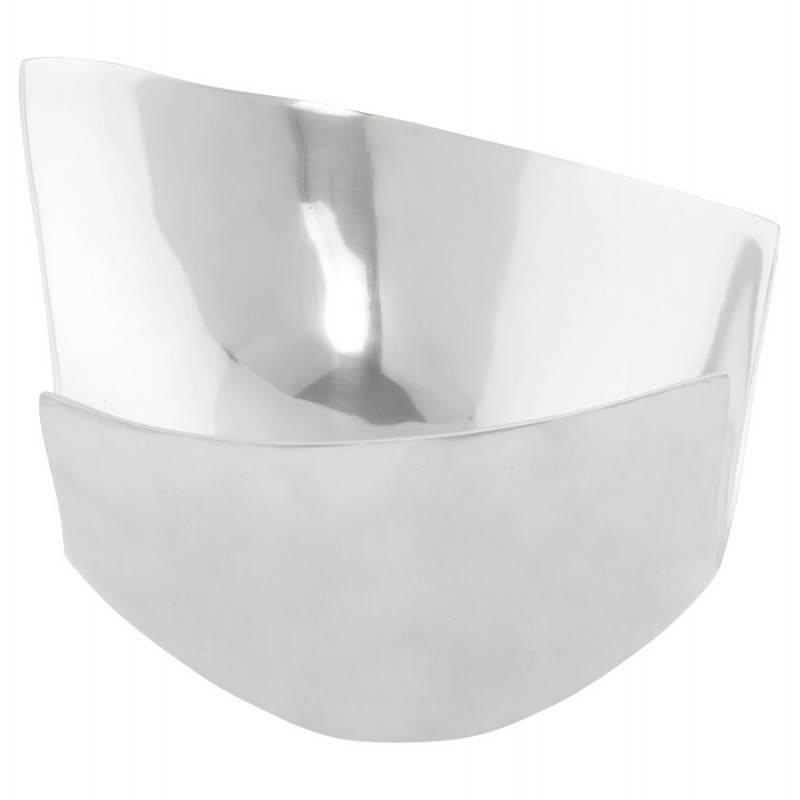 Cestino multifunzione BOUEE in alluminio lucidato (alluminio) - image 20278
