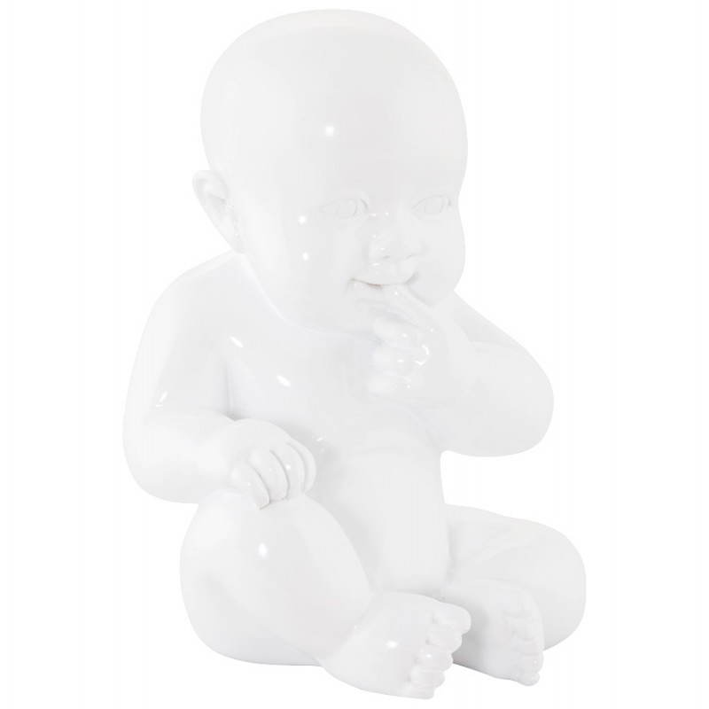 Statuette Form Baby KISSOUS GFK (weiß) - image 20298