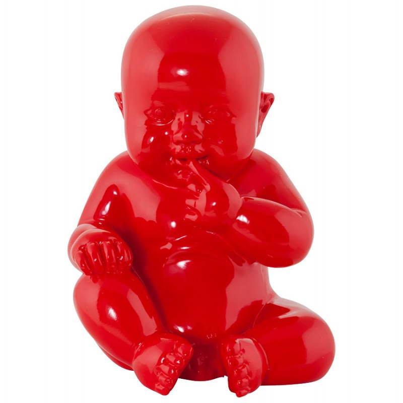 Statuette form baby KISSOUS fibreglass (red) - image 20305