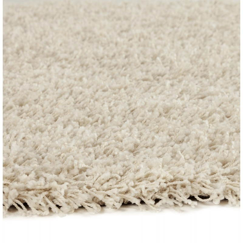 Contemporary rugs and design MIKE round small model (Ø 160 cm) (cream) - image 20343