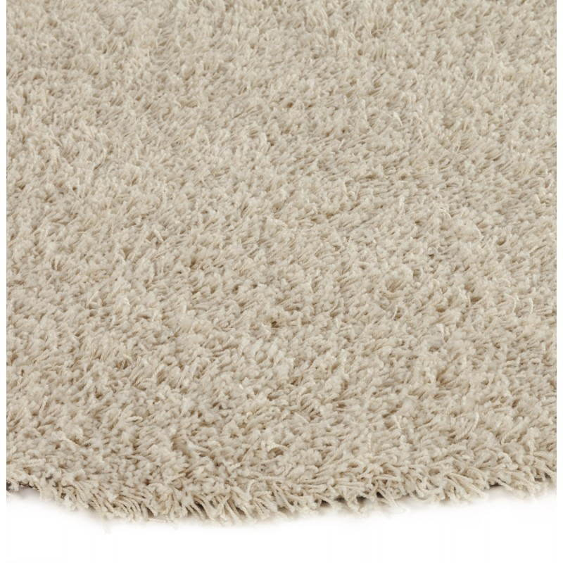 Contemporary rugs and design MIKE round small model (Ø 160 cm) (cream) - image 20344