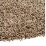 Contemporary rugs and design model small round MIKE (Ø 160 cm) (Brown)