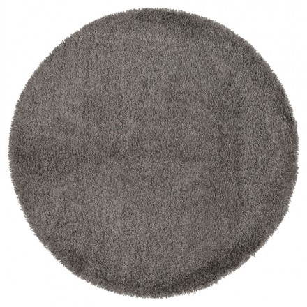 Contemporary rugs and design large round MIKE model (Ø 200 cm) (grey)