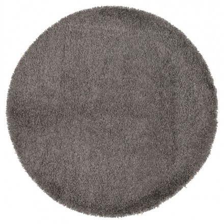 Tappeti contemporanei e design grande rotondo modello MIKE (Ø 200 cm) (grigio)