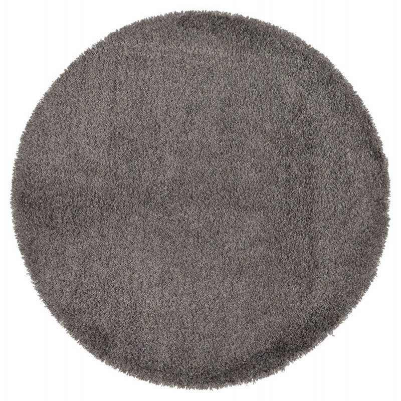 Tapis contemporain et design MIKE rond grand modèle (Ø 200 cm) (gris) - image 20387