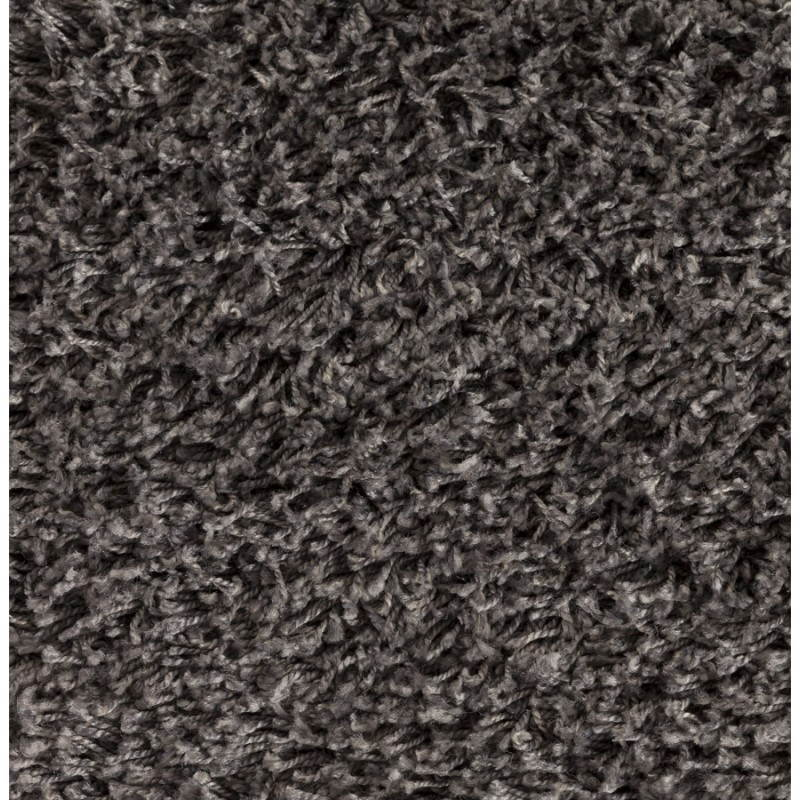 Tapis contemporain et design MIKE rond grand modèle (Ø 200 cm) (gris) - image 20389