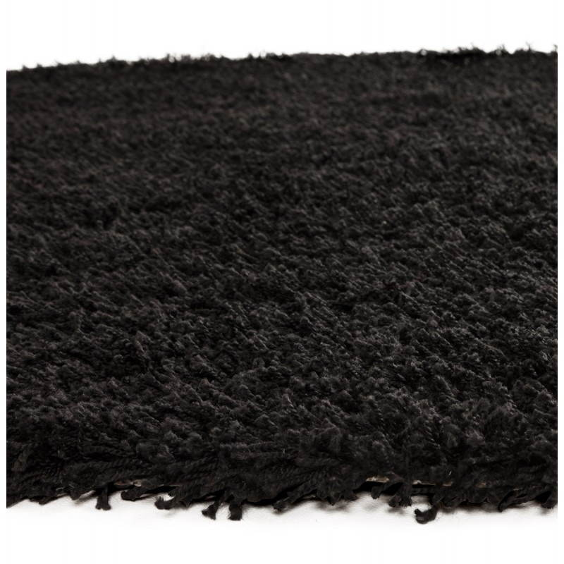 Contemporary rugs and design MIKE round small model (Ø 160 cm) (black) - image 20403