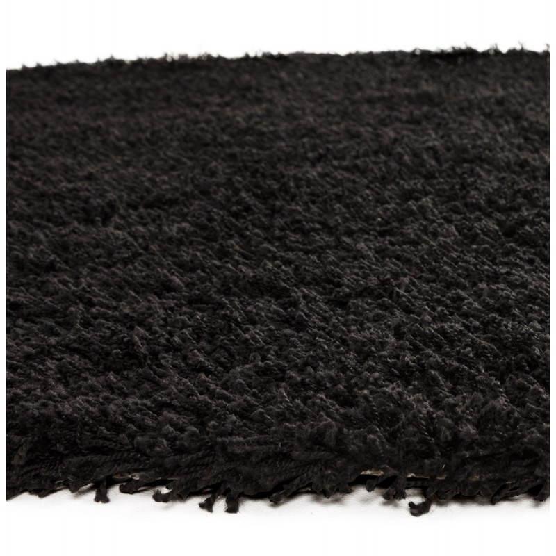 Zeitgenössische Teppiche und Design MIKE Runde kleines Modell (Ø 160 cm) (schwarz) - image 20403