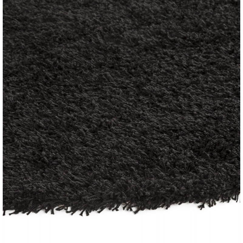 Contemporary rugs and design MIKE round small model (Ø 160 cm) (black) - image 20404