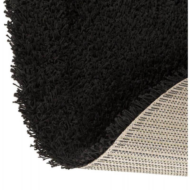Tapis contemporain et design MIKE rond petit modèle (Ø 160 cm) (noir) - image 20405