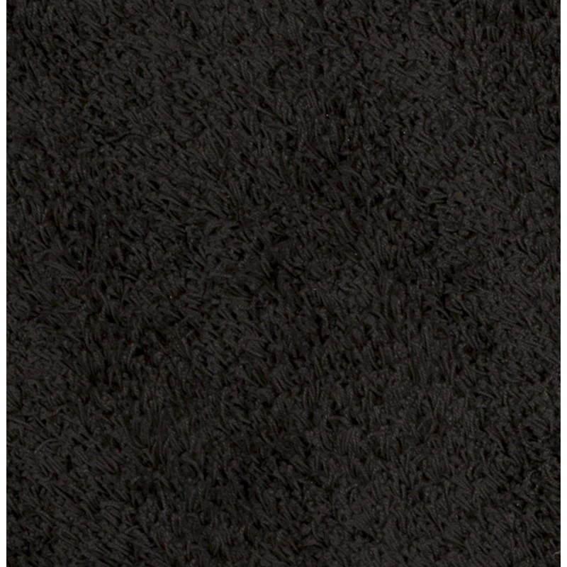 Zeitgenössische Teppiche und Design MIKE Runde kleines Modell (Ø 160 cm) (schwarz) - image 20407