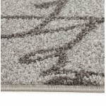 Contemporary rugs and rectangular FLORIEN design (160 X 230) (beige and black)