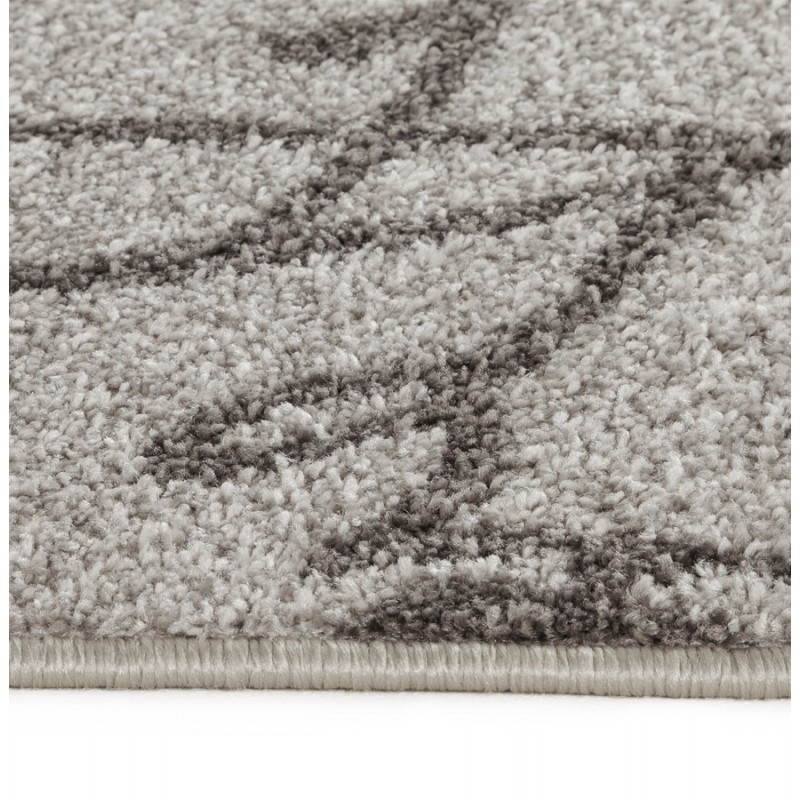 Contemporary rugs and rectangular FLORIEN design (160 X 230) (beige and black) - image 20446