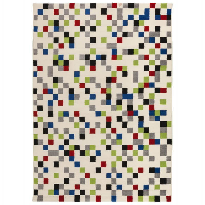 Contemporary rugs and design rectangular CARLA (multicolor)