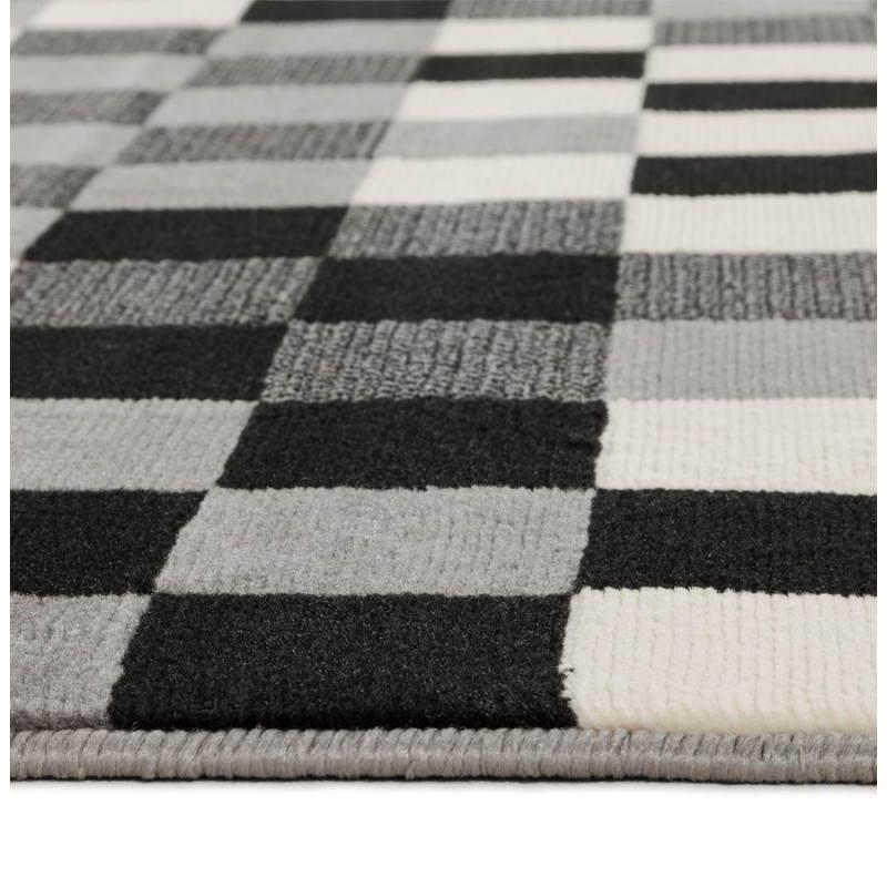Zeitgenössische Teppiche und Design RONY rechteckig (schwarz, grau, weiß) - image 20486