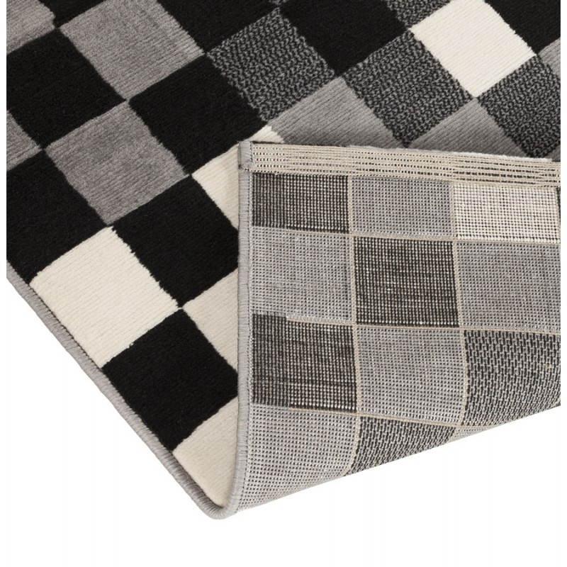 Zeitgenössische Teppiche und Design RONY rechteckig (schwarz, grau, weiß) - image 20487